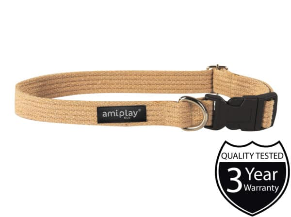 Product 1 AmiPlay Cotton Collar Beige W 1 scaled