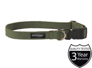 AmiPlay_Cotton_Collar_Green_W.jpg 3 AmiPlay Cotton Collar Green W