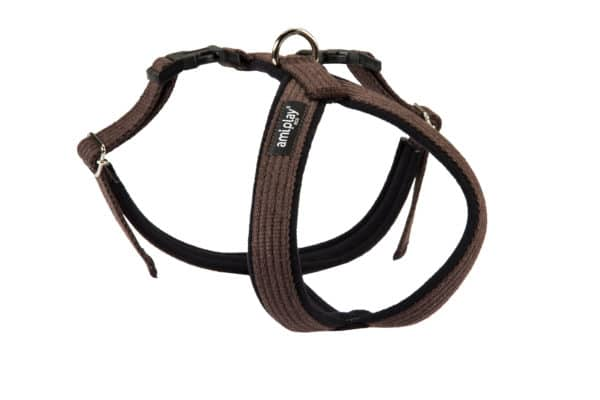 Product 1 AmiPlay Cotton GrandHarness Brown