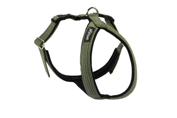 Product 1 AmiPlay Cotton GrandHarness Green