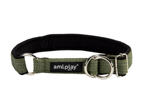 Product 1 AmiPlay Cotton HalfCheck Green 1