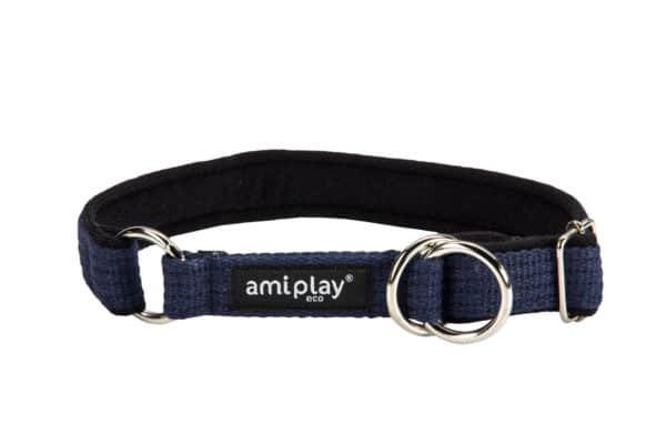 Product 1 AmiPlay Cotton HalfCheck Navy 1