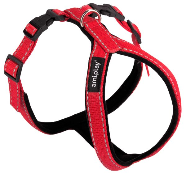 Product 1 AmiPlay Ref Harness Red O
