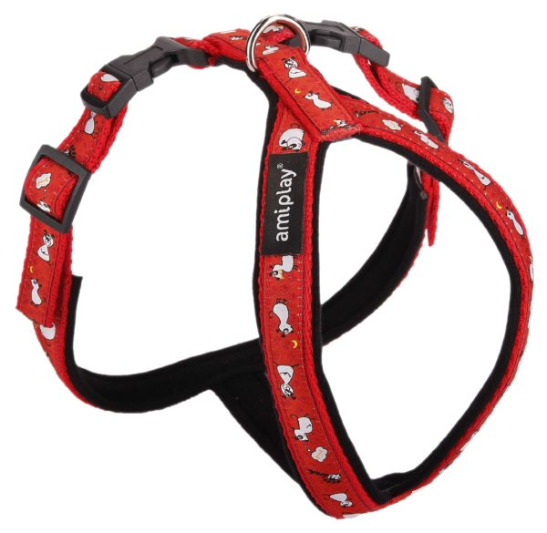 Product 1 AmiPlay Wink Harness Red