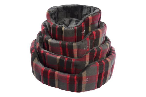 Product 1 GorPets Camden 02 Red Check Set 1