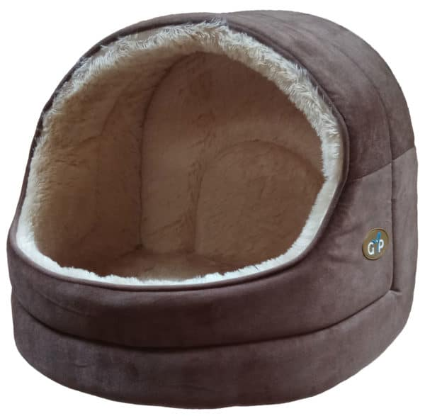 Product 1 GorPets Hooded Bed Brown Single