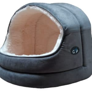 Home 11 GorPets Hooded Bed Grey Single