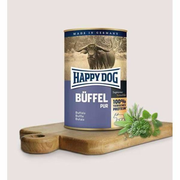 Happy Dog Pure Buffalo - 8x400g 1 Happy dog buffalo pur 60e599ad 3c83 46cd 84fc 9fd02e82937e spo