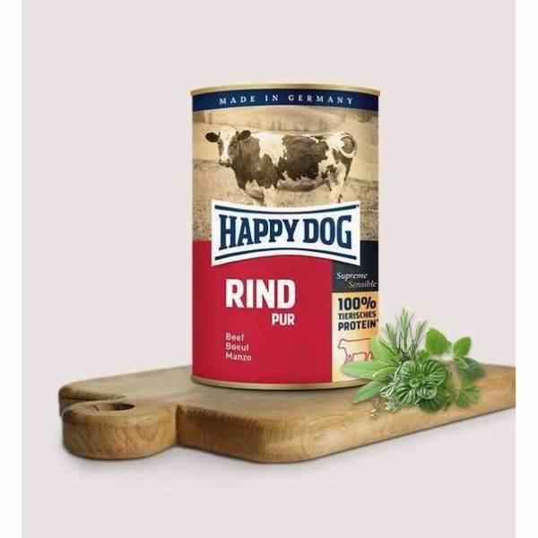 Happy Dog Pure Beef - 12x400g 1 Happy dog rind pur db38dc98 1987 483e 8602 43bb1dc90d2e spo