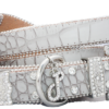 Glam Rock Croc Leather Collar And Lead Set 2 IMG 5011 2