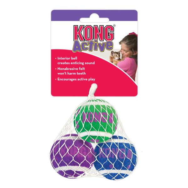 Product 1 KONG CA56 Tennis Balls With Bells 1
