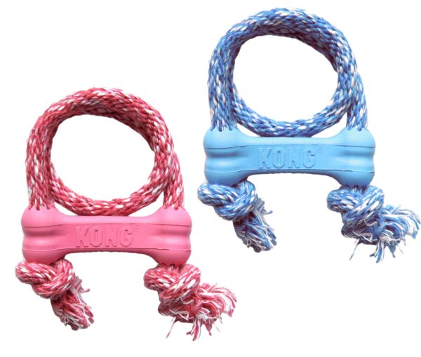 Product 1 KONG KP51 Puppy Goodie BoneW Rope 1