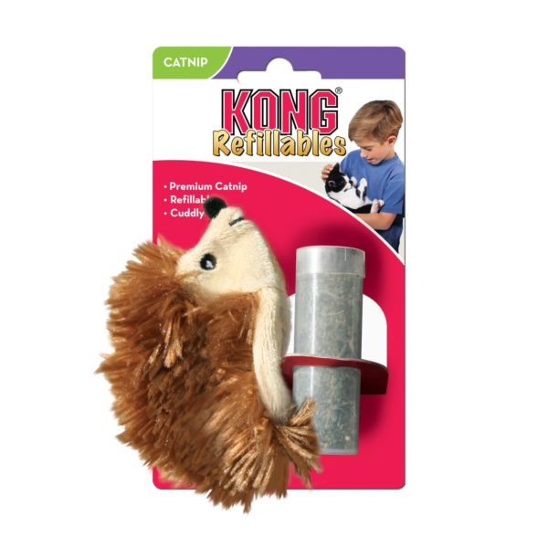 Product 1 KONG NH42 CatRefillable Hedgehog 1
