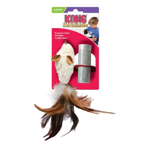 Product 1 KONG NM42 CatRefillable Feather Mouse 1