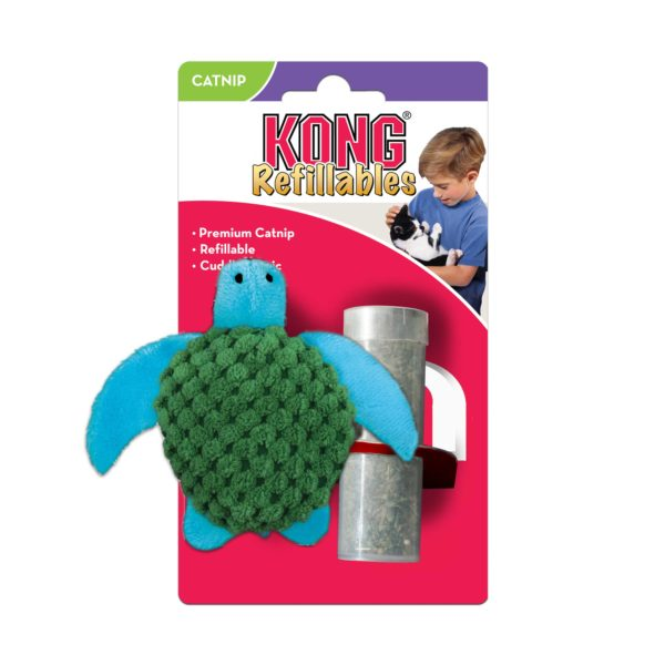 Product 1 KONG NT43 CatRefillable Turtle 1