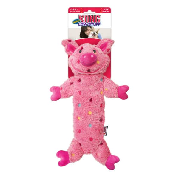 Product 1 Kong LWS14 Low Stuff Speckles Pig
