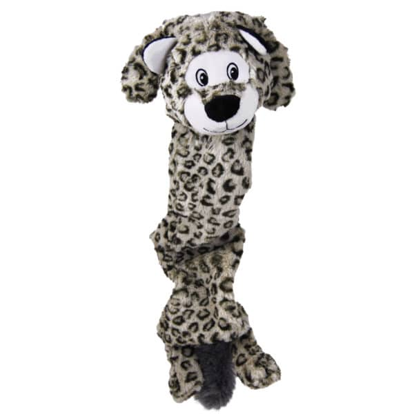 Product 1 Kong RSJX3 Stretchezz Jumbo Snow Leopard