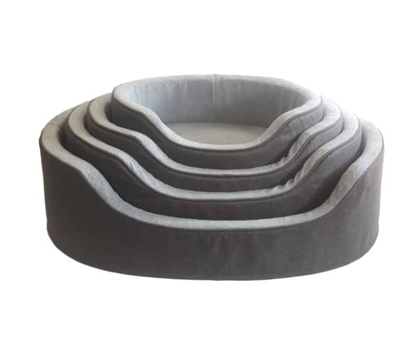 Pet Dog Bed Stylish yet simplistic, this dog bed combines optimum comfort with easy flexible washing.
