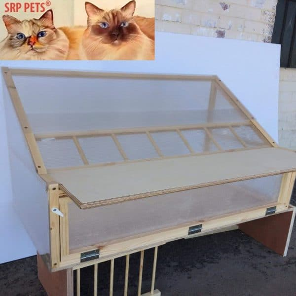 "SRP PETS®Sputnik For Racing Loft 35"" Made With Quality Timber/Polycarbonate & FREE UK Delivery"