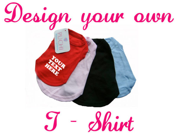 Design Your Own Dog T-Shirt 1 dyo
