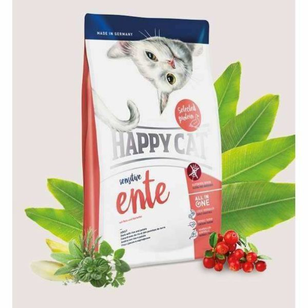 Happy Cat Sensitive Duck - 300 g 1 happycat sensitive duck 7219780f 2352 410f 9474 32842702f4b4 spo