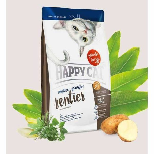 Happy Cat Sensitive Grainfree - reindeer - 4 kg 1 happycat sensitive reindeer spo