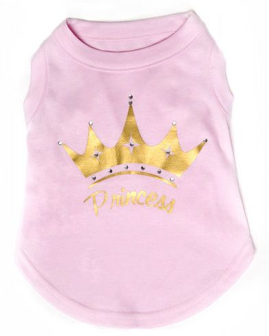Princess Dog T-shirt - Cute Tee 1 princesstshirt5Bfullscreen5D