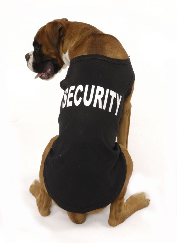 Security Dog T-Shirt - Hand Finished 1 securitytshirt5Bfullscreen5D