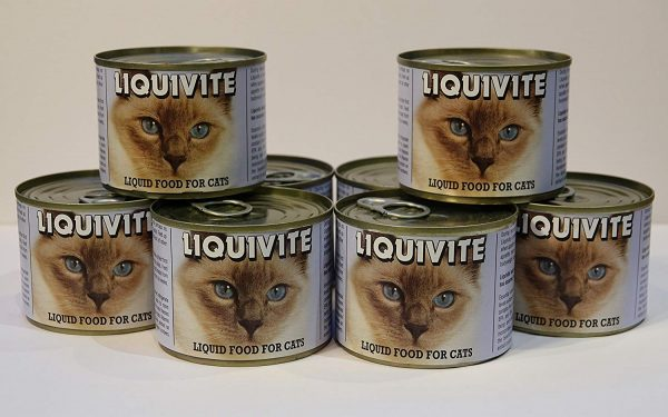 Liquivite, CKD, Liquid Cat Food x4 200g, Recommended By Vets, FAST & FREE UK DELIVERY 1 Liquivite200g4Cat